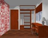 Wnętrze szafy szerokość 140 - 160 cm 1416w15x2