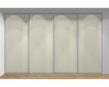 Drzwi przesuwne szerokość 311 - 350 cm 3135d5x4