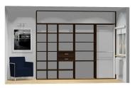 Wnętrze szafy szerokość 271 - 310 cm  2731w40x4