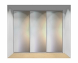 Drzwi przesuwne szerokość 271 - 310 cm 2731d4x3