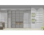 Wnętrze szafy szerokość 350 - 400 cm  3540w21x4