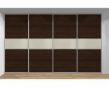 Drzwi przesuwne szerokość 351 - 400 cm 3540d7x4