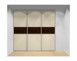 Drzwi przesuwne szerokość 211 - 240 cm 2124d13x3