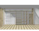 Wnętrze szafy szerokość 400 - 450 cm  4045w8x5