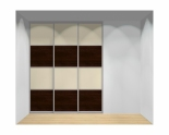 Drzwi przesuwne szerokość 181 - 210 cm 1821d15x3