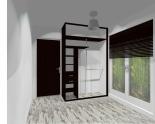 Wnętrze szafy szerokość 140 - 160 cm 1416w13x2