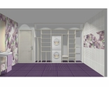 Wnętrze szafy szerokość 310 - 350 cm  3135w18x3