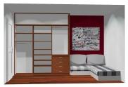 Wnętrze szafy szerokość 211 - 240 cm 2124w25x3