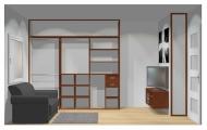 Wnętrze szafy szerokość 241 - 270 cm 2427w20x3