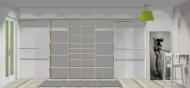 Wnętrze szafy szerokość 400 - 450 cm  4045w17x4