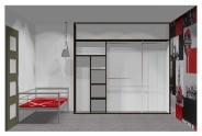 Wnętrze szafy szerokość 241 - 270 cm 2427w19x3