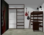 Wnętrze szafy szerokość 140 - 160 cm 1416w19x2