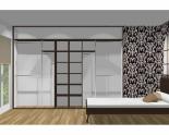 Wnętrze szafy szerokość 310 - 350 cm  3135w45x4