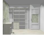 Wnętrze szafy szerokość 181 - 210 cm 1821w24x2