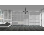 Wnętrze szafy szerokość 400 - 450 cm  4045w11x5