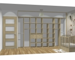 Wnętrze szafy szerokość 310 - 350 cm  3135w43x4