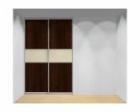 Drzwi przesuwne szerokość 161 - 180 cm 1618d15x2