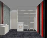 Wnętrze szafy szerokość 181 - 210 cm 1821w46x3
