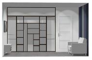 Wnętrze szafy szer. 241 - 270 cm