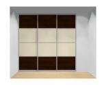 Drzwi przesuwne szerokość 241 - 270 cm 2427d14x3