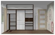 Wnętrze szafy szerokość 241 - 270 cm 2427w15x3
