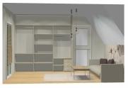 Wnętrze szafy szerokość 241 - 270 cm 2427w18x3