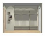 Wnętrze szafy szerokość 241 - 270 cm 2427w5x3