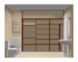 Wnętrze szafy szerokość 241 - 270 cm 2427w12x3