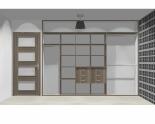 Wnętrze szafy szerokość 310 - 350 cm  3135w19x3