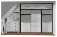 Wnętrze szafy szerokość 241 - 270 cm 2427w23x3