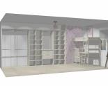 Wnętrze szafy szerokość 350 - 400 cm  3540w14x5