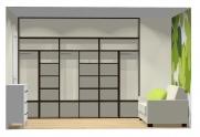 Wnętrze szafy szerokość 271 - 310 cm  2731w13x3