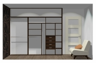 Wnętrze szafy szerokość 271 - 310 cm  2731w26x3