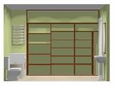 Wnętrze szafy szerokość 271 - 310 cm  2731w22x3