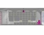 Wnętrze szafy szerokość 450 - 500 cm  4550w13x5
