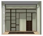 Wnętrze szafy szerokość 271 - 310 cm  2731w10x3