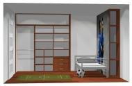 Wnętrze szafy szerokość 211 - 240 cm 2124w21x3