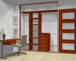 Wnętrze szafy szerokość 181 - 210 cm 1821w4x2