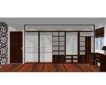 Wnętrze szafy szerokość 400 - 450 cm  4045w26x5