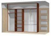 Wnętrze szafy szerokość 271 - 310 cm  2731w28x4