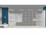 Wnętrze szafy szerokość 450 - 500 cm  4550w12x5