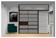 Wnętrze szafy szerokość 241 - 270 cm 2427w16x3