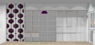 Wnętrze szafy szerokość 400 - 450 cm  4045w16x4