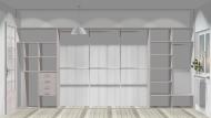 Wnętrze szafy szerokość 400 - 450 cm  4045w9x4