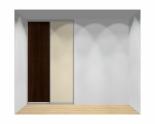 Drzwi przesuwne szerokość 140 - 160 cm 1416d4x2