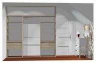Wnętrze szafy szerokość 241 - 270 cm 2427w22x3