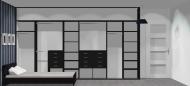 Wnętrze szafy szerokość 400 - 450 cm  4045w20x4