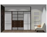 Wnętrze szafy szerokość 271 - 310 cm  2731w50x4