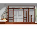 Wnętrze szafy szerokość 350 - 400 cm  3540w8x5