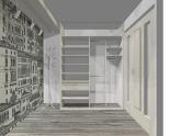 Wnętrze szafy szerokość 161 - 180 cm 1618w15x2